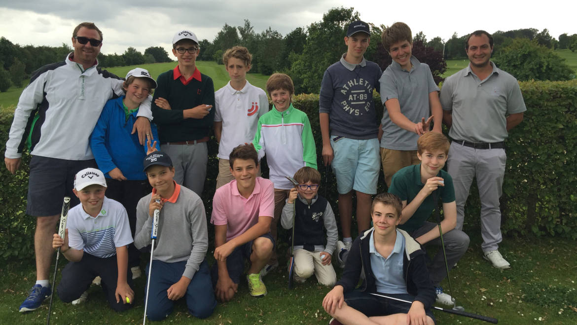 Stage junior – Vacances de Noêl 2016 – Process Golf Coaching