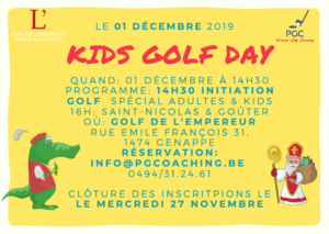 Kids Golf Day