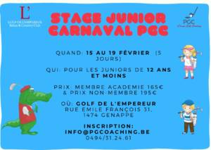 Stage Junior Carnaval 2021